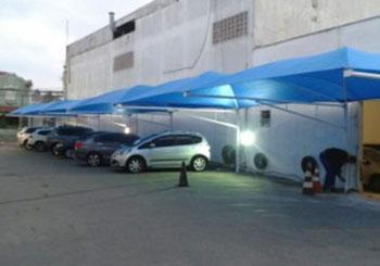 Sombreadores para Estacionamento